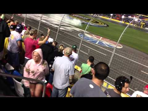 NASCAR Fan Get Smacked By His Girl