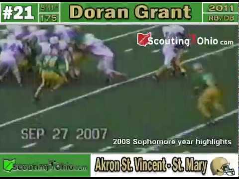 Doran Grant High School Highlights video.