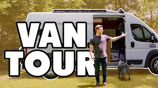 Video Dude lives full time in promaster van with pets | Shower and Solar MP3, 3GP, MP4, WEBM, AVI, FLV September 2019
