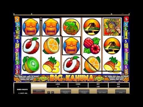BIG KAHUNA +BONUS GAME! +BIG WIN! online free slot SLOTSCOCKTAIL microgaming