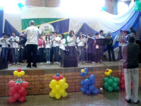 Banda Valesca Parte Musical com Banda Marcolina  e Banda de Nova Itaberaba.26/09/2012