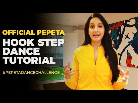 Nora Fatehi - Official Pepeta Hook Step Dance Tutorial
