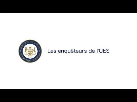 Arrêt sur image de la vidéo: Les enquêteurs de l'UES