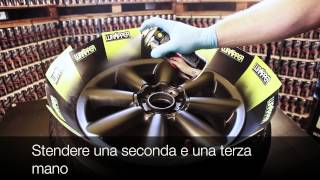 Wrapper vernice spray rimovibile per moto - Video Dalla Rete