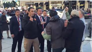 Video Erdogan's security guard attacked,insulted, & removed protesters in US MP3, 3GP, MP4, WEBM, AVI, FLV September 2017