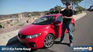 2013 Kia Forte Koup SX Test Drive&Car Video Review
