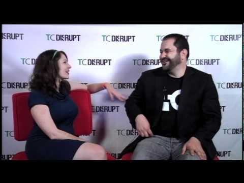 Disrupt Backstage: Sarah Lacy and Shervin Pishevar