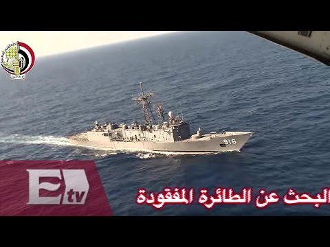 Encuentran restos del avión de EgyptAir frente a las costas egipcias