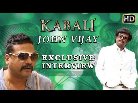 John Vijay says I am not a VILLAIN at home | Kabali Exclusive Interview | Rajinikanth | Pa Ranjith