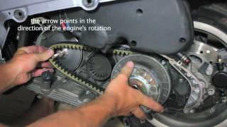 10. Vespa CVT Installation GTS GT GTV GT60 SUPER 125 200 250 300