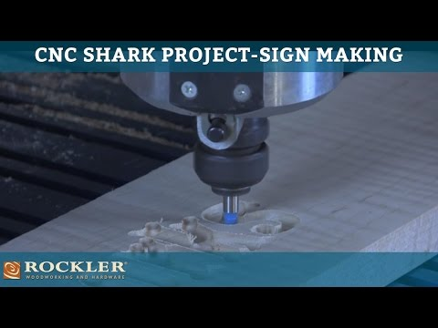 CNC Shark Project: Sign Making