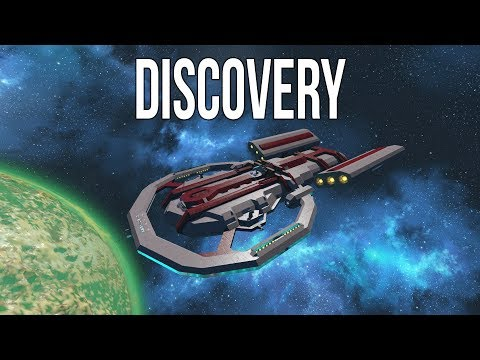 Space Engineers - RWI Discovery - Heavy Science Cruiser