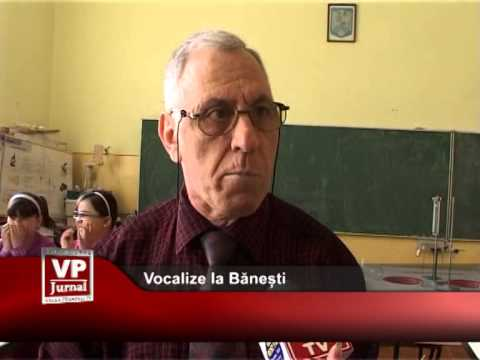 Vocalize la Bănești