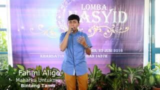 Download Lagu Fahmi Aligo - Maharku Untukmu Mp3