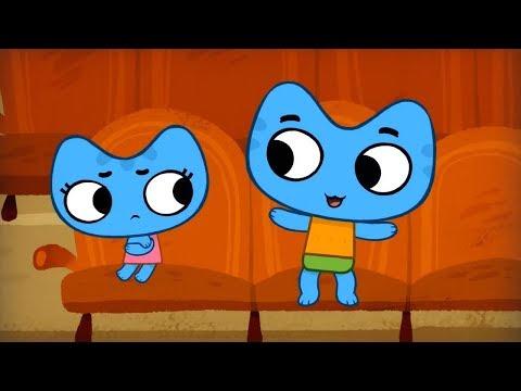 Мультики - Котики, вперед! - Все серии - Мультфильмы для детей про котят - Часовой сборник (видео)