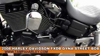 10. Used 2008 HarleyDavidson FXDB Dyna Street Bob - Motorcycles for sale