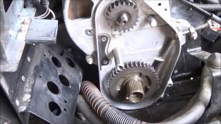 8. 1996 Polaris Classic chaincase reverse gear installation