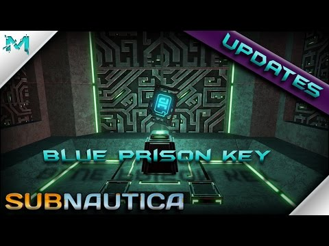 Subnautica UPDATES! Thermal Plant Generator, PDA Downloads, and Blue Artifact! (Prison Key) (видео)