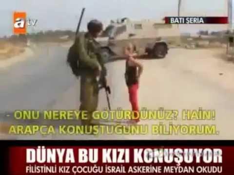 Video Cesur Filistinli Kız İsrail askerin'e yumruk atıyor. download in MP3, 3GP, MP4, WEBM, AVI, FLV January 2017