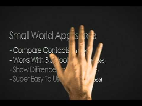 Video of Compare contacts - Small World