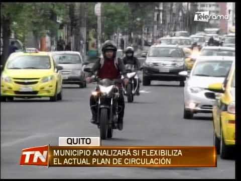 Municipio analizará si flexibiliza el actual plan de circulación