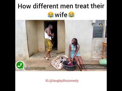 How men treat their wife (LaughPillsComedy)