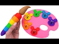 Best Learning Colors Video For Children  Mickey Mouse Clubhouse Play Doh Molds Rl