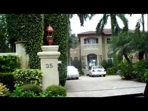 Video Palm Island and Star Island Florida drive through complete!!Birdman's Mansion Scott Storch Mansion download in MP3, 3GP, MP4, WEBM, AVI, FLV January 2017