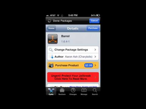 jailbreaking - Me describing what jail breaking is and how it enhances your IPhone iPod or iPad. Beginners Guide to Jailbreaking: http://www.youtube.com/watch?v=eCzJu_HVcjU...