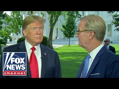 President Trump makes surprise appearance on Fox  Friends