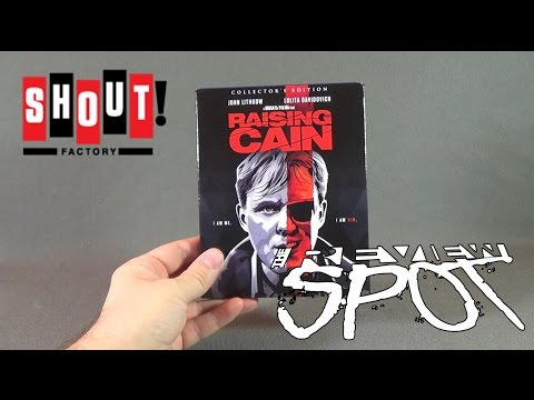 Blu Ray Spot - Shout Factory's Raising Cain Blu Ray