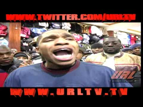 URL PRESENTS MURDA MOOK VS Loaded Lux. HQ [ FULL BATTLE]