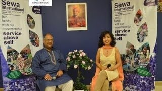 Ashwani Garg from Sewa International talks to The  Foundations TV