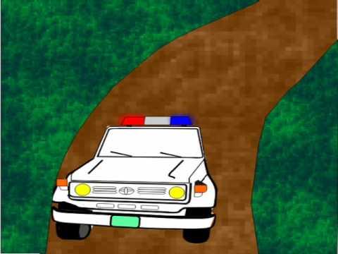 comiquita - Demo de policia en caricatura hecho con la finalidad de llevar algo real a un proyecto.
