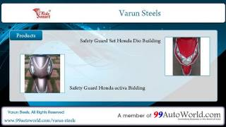 5. Varun Steels - Two Wheeler Safety Guard Manufacturers
