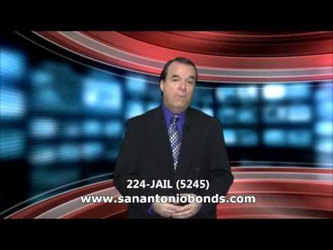video:San Antonio Bail Bonds Fast Service Day Or Night 2% Down