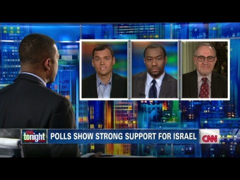 israel - Peter Beinart, Marc Lamont Hill and Alan Dershowitz discuss factors behind latest poll results for support of Israel.