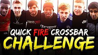 YOUTUBERS QUICK FIRE CROSSBAR CHALLENGE!
