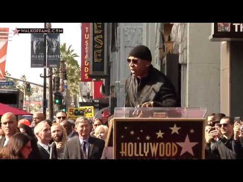 LL Cool J Walk of Fame Ceremony