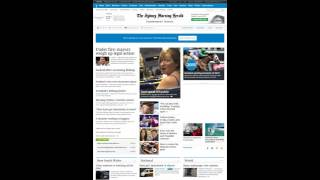 Australia Newspapers YouTube video