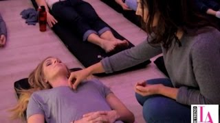As meditation becomes more popular, those who practice are looking for more resources. That's where Unplug Meditation comes in. Courtney Harvey with The Trend LA hit up the Santa Monica studio. It's the first studio in the world with secular drop-in classes. Unplug offers several types of classes including mindfulness, mantra-based, guided imagery, sound bowls, crystal healing and many more. Research shows meditation has great health benefits including pain management, reduced stress, improved sleep and mood and can reduce blood pressure.For more information go to: unplugmeditation.com.