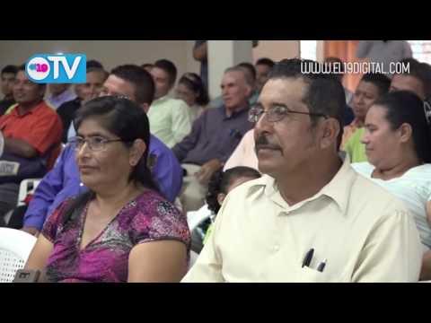 Congregaciones evangélicas de Estelí reciben títulos de propiedad
