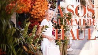 GET 20% OFF ASOS TODAY HERE: http://bit.ly/2rMXxPo Here's my ASOS Summer Haul ft dresses, summer blouses & more!