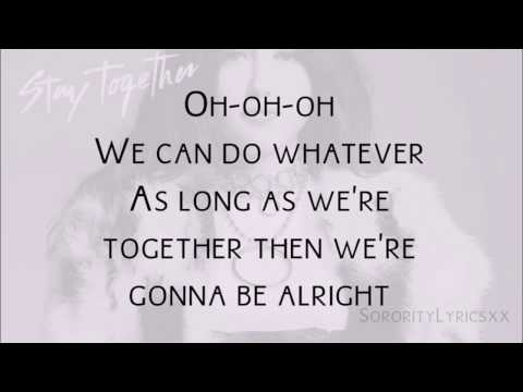 "Noah Cyrus - ""Stay Together"" With Lyrics"