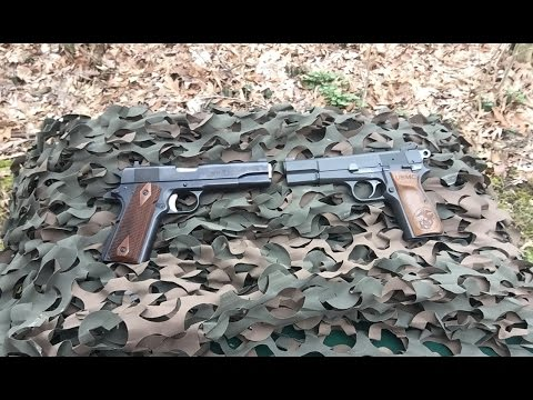 1911 vs P35 Hi Power – Which is the BEST Military Service Pistol