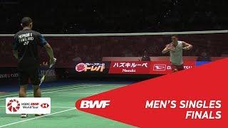 Video F | MS | Kento MOMOTA (JPN) [3] vs Khosit PHETPRADAB (THA) | BWF 2018 MP3, 3GP, MP4, WEBM, AVI, FLV September 2018
