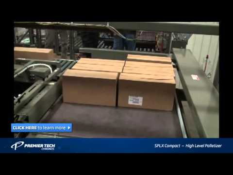 Box Palletizer | Palletizing Machine (SPLX Compact)