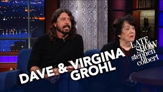 <b>Dave Grohl</b>s Mom Virginia Talks About Raising A Rockstar Child