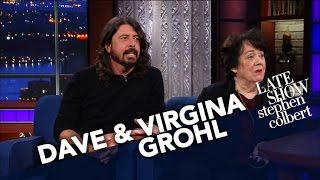 Video Dave Grohl's Mom Virginia Talks About Raising A Rockstar Child MP3, 3GP, MP4, WEBM, AVI, FLV Februari 2019