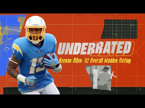 Keenan Allen Feels Disrespected By His Madden Rating | Underrated S1E3
